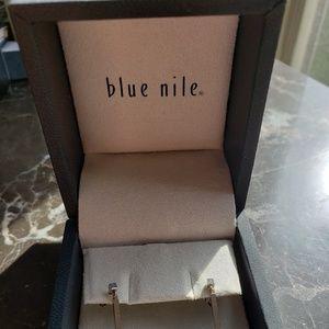 Blue Nile Jewelry - Blue Nile 950 Platinum Bar Drop Earrings